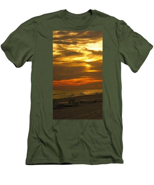 Laguna Beach Men's T-Shirt (Slim Fit) by Paul Wilford