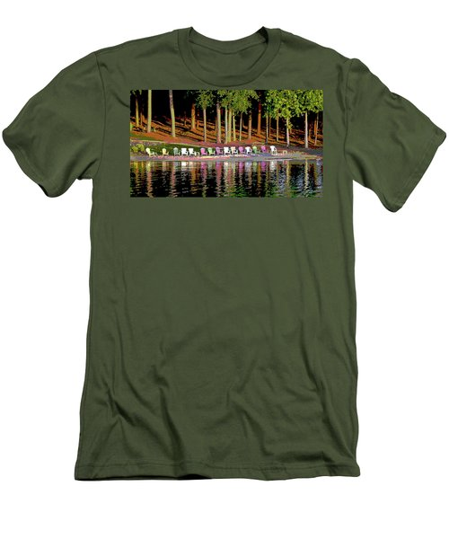 Lake Chairs Men's T-Shirt (Athletic Fit)
