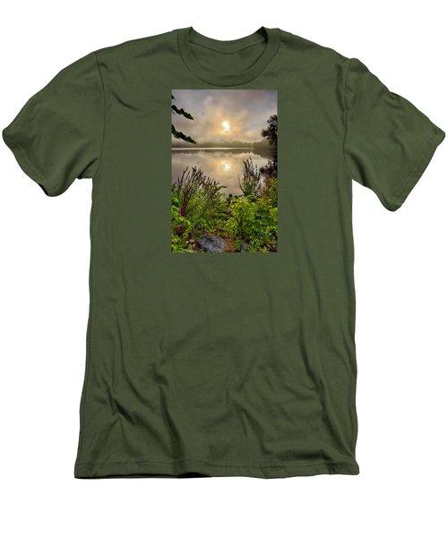 Lake Pentucket Sunrise, Haverhill, Ma Men's T-Shirt (Athletic Fit)