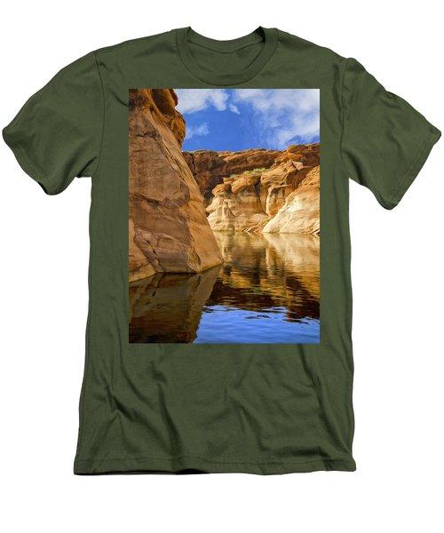 Lake Powell Stillness Men's T-Shirt (Athletic Fit)