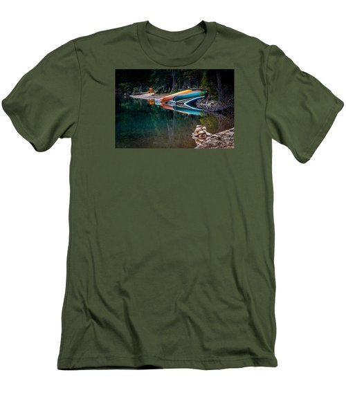 Kayaks At Rest Men's T-Shirt (Athletic Fit)