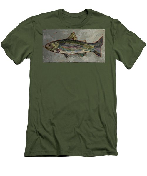 Lake Trout Men's T-Shirt (Athletic Fit)
