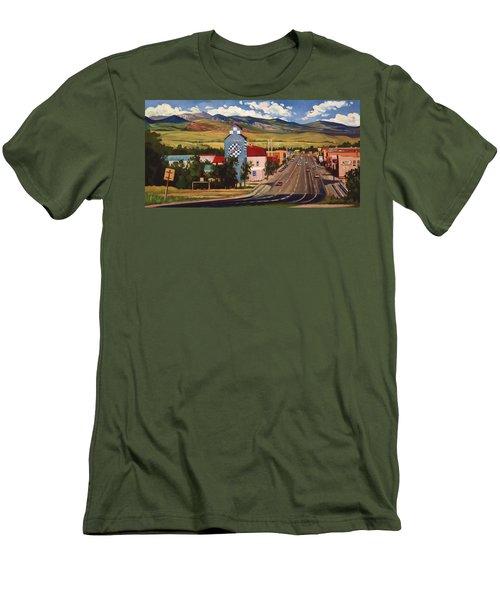 Lander 2000 Men's T-Shirt (Slim Fit) by Art West