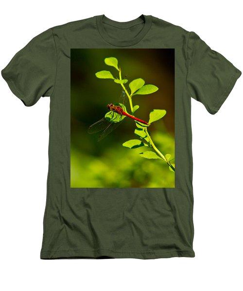 Landing Pad Men's T-Shirt (Athletic Fit)