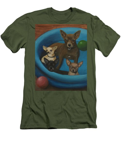 Lanice's Dogs Men's T-Shirt (Athletic Fit)