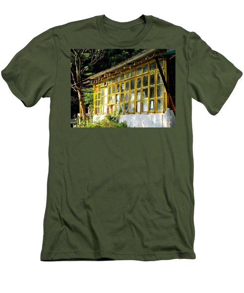 Men's T-Shirt (Slim Fit) featuring the photograph Lantau Island 46 by Randall Weidner
