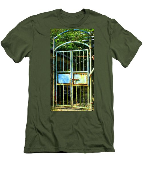 Men's T-Shirt (Slim Fit) featuring the photograph Lantau Island 48 by Randall Weidner