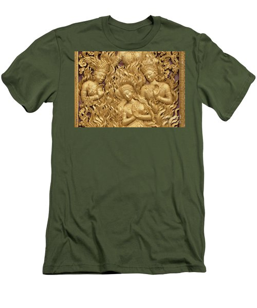 Men's T-Shirt (Slim Fit) featuring the photograph Laos_d60 by Craig Lovell
