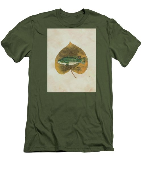 Large Mouth Bass Men's T-Shirt (Slim Fit) by Ralph Root