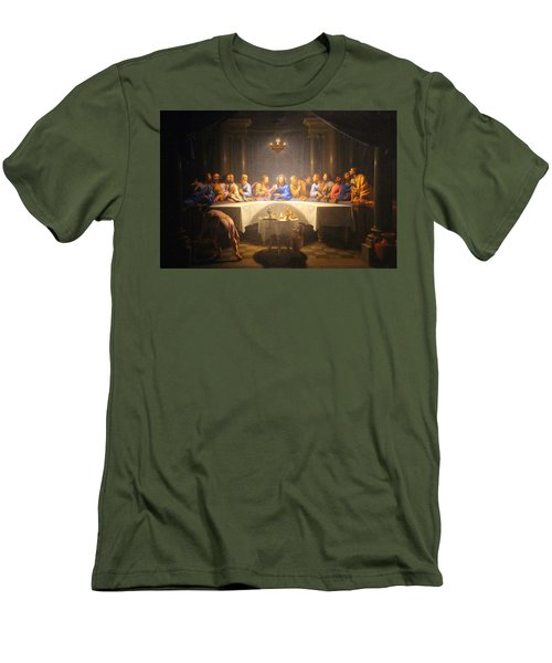 Last Supper Meeting Men's T-Shirt (Athletic Fit)