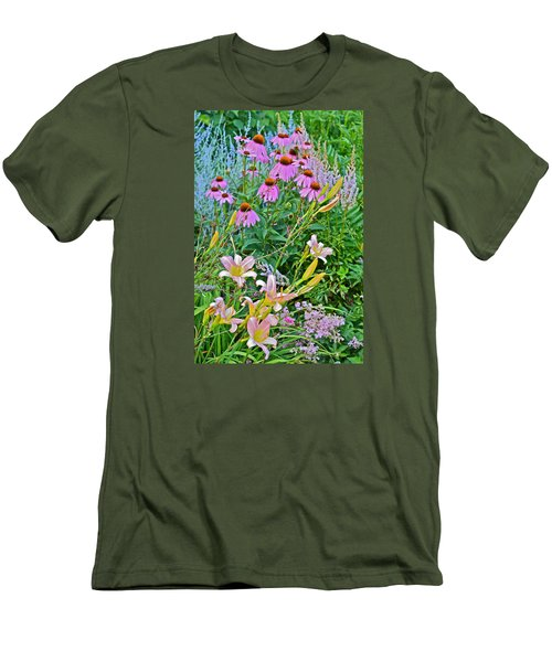 Late July Garden 3 Men's T-Shirt (Athletic Fit)