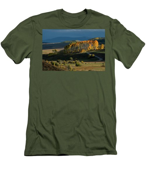 Late Stand Men's T-Shirt (Slim Fit) by Dana Sohr
