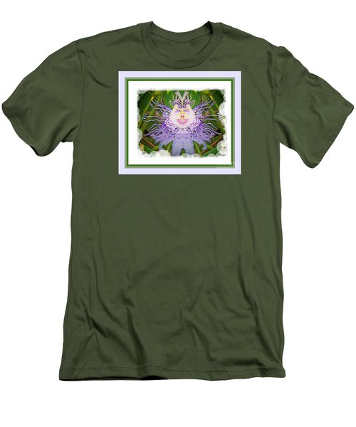 Laughing Flower Men's T-Shirt (Athletic Fit)