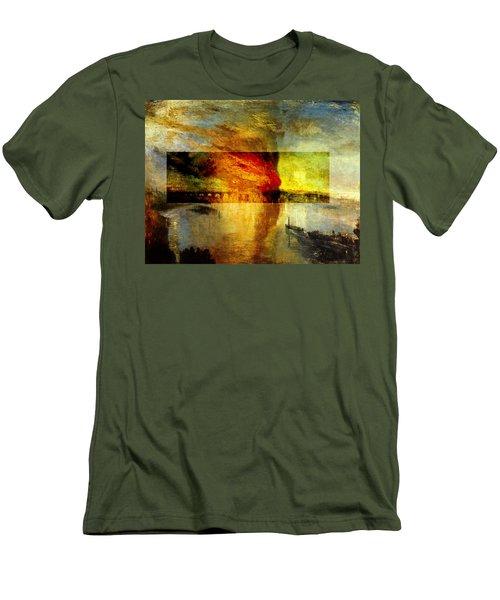 Layered 12 Turner Men's T-Shirt (Slim Fit) by David Bridburg