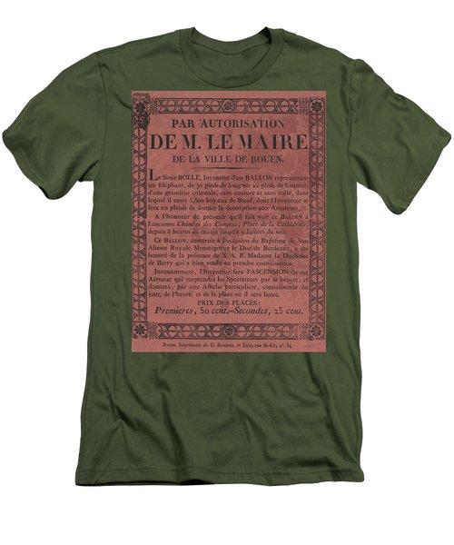 Le Maire Balloon Race Men's T-Shirt (Athletic Fit)