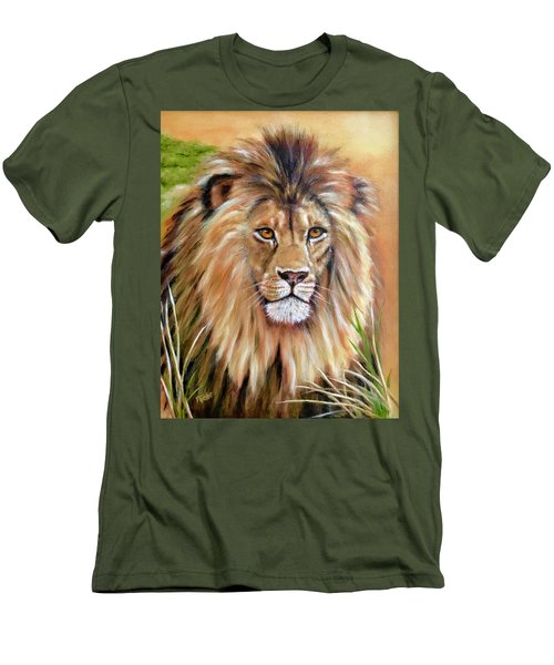 Le Roi-the King, Tribute To Cecil The Lion   Men's T-Shirt (Athletic Fit)