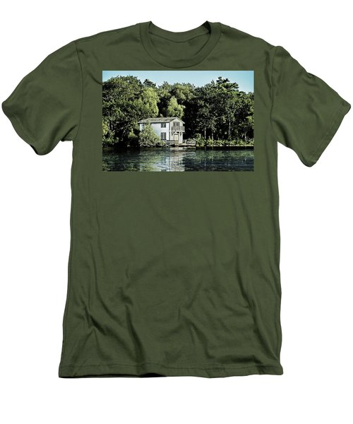 Leacock Boathouse Men's T-Shirt (Athletic Fit)