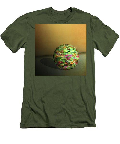 Leaf Ball -  Men's T-Shirt (Athletic Fit)