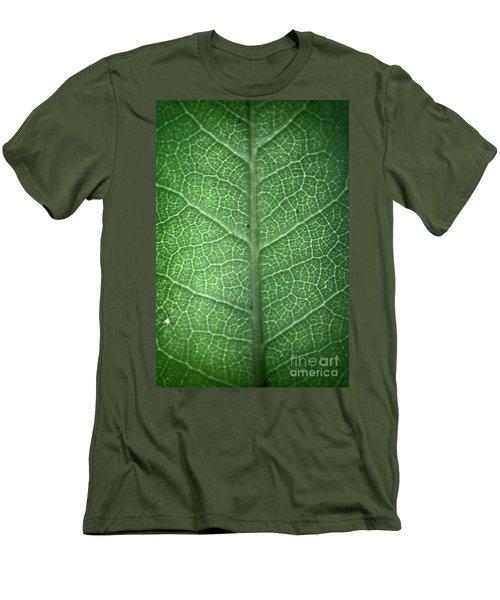Leaf Vein Men's T-Shirt (Athletic Fit)