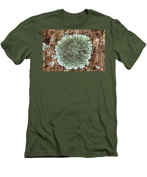 Leafy Lichen Men's T-Shirt (Athletic Fit)