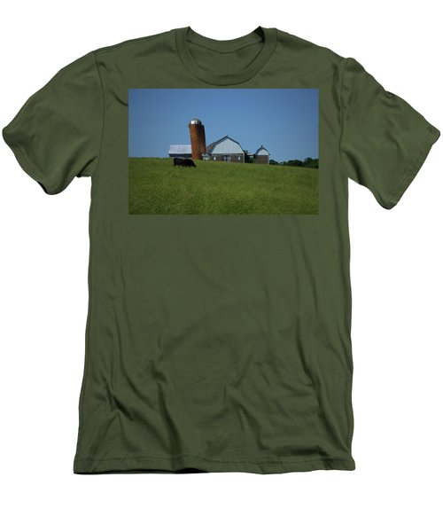 Men's T-Shirt (Slim Fit) featuring the photograph Lean Beef by Robert Geary