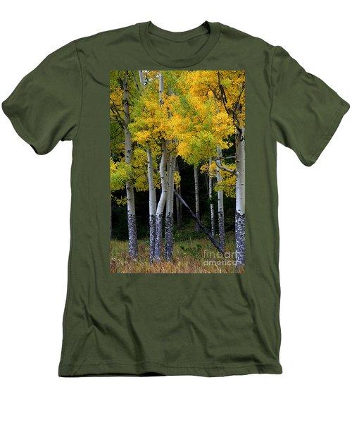 Leaning Aspen Men's T-Shirt (Athletic Fit)