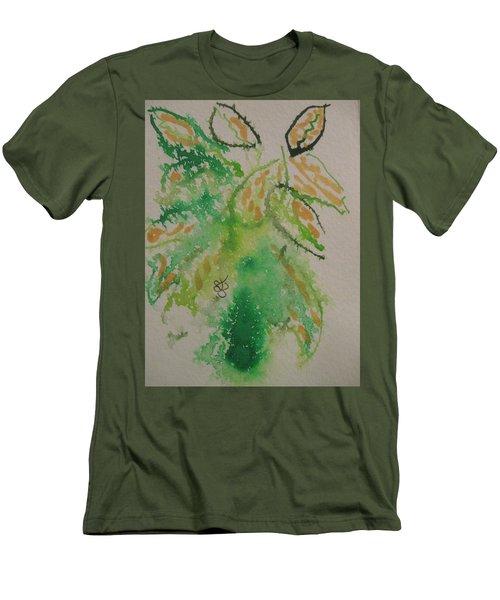 Leaves Men's T-Shirt (Slim Fit) by AJ Brown