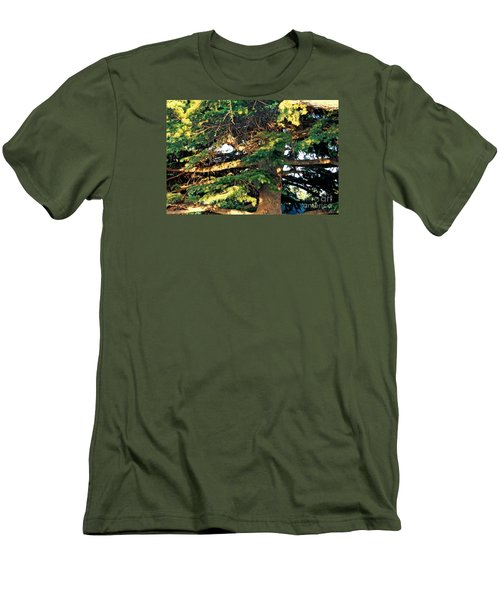 Lebanese Cedar Men's T-Shirt (Athletic Fit)