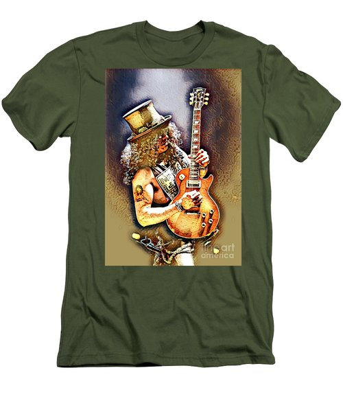 Legends Of Rock - Slash - Sweet Child Men's T-Shirt (Athletic Fit)