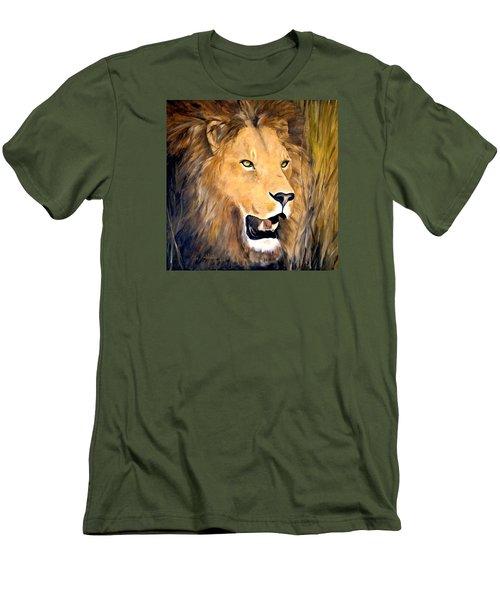Leo Men's T-Shirt (Slim Fit) by Alan Lakin