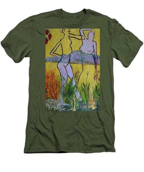 Les Nymphs D'aureille Men's T-Shirt (Athletic Fit)