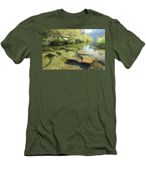 Men's T-Shirt (Athletic Fit) featuring the photograph Let The Light Consume You by Sean Sarsfield
