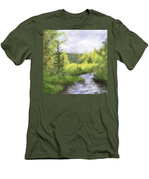 Let The Light Shine In. Men's T-Shirt (Athletic Fit)