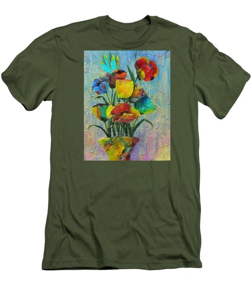 Let Your Individualism Stand Out Men's T-Shirt (Slim Fit) by Terry Honstead
