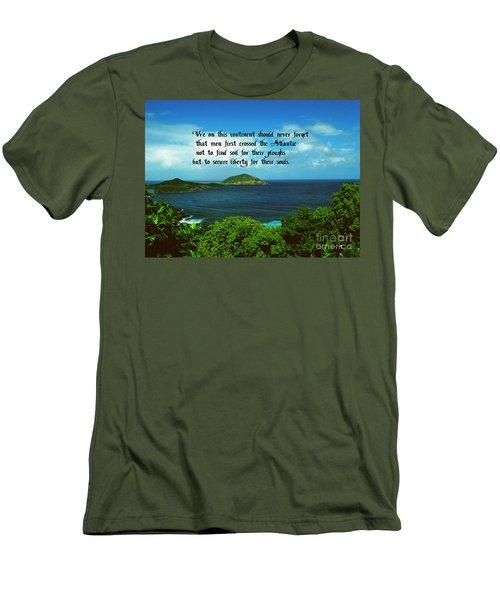 Liberty Men's T-Shirt (Slim Fit) by Gary Wonning