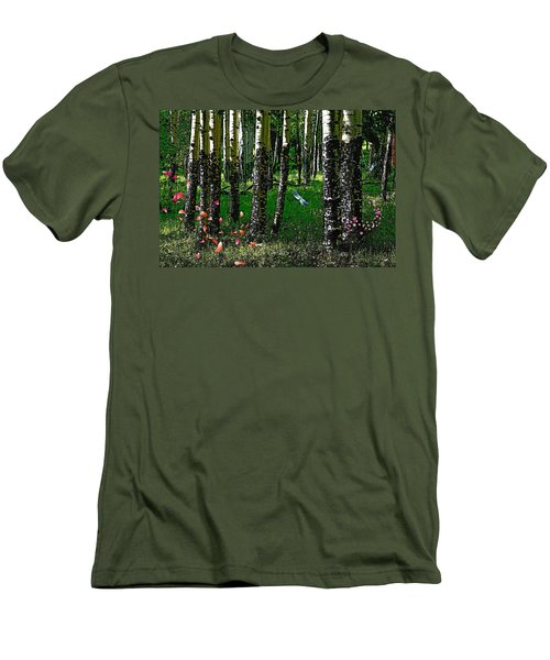 Life Among The Aspens Men's T-Shirt (Athletic Fit)