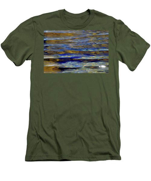 Light And Water  Men's T-Shirt (Slim Fit) by Lyle Crump