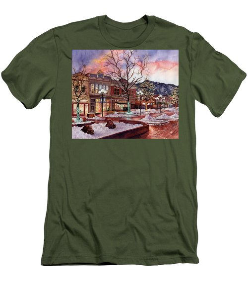 Light Up Heaven And Earth Men's T-Shirt (Athletic Fit)