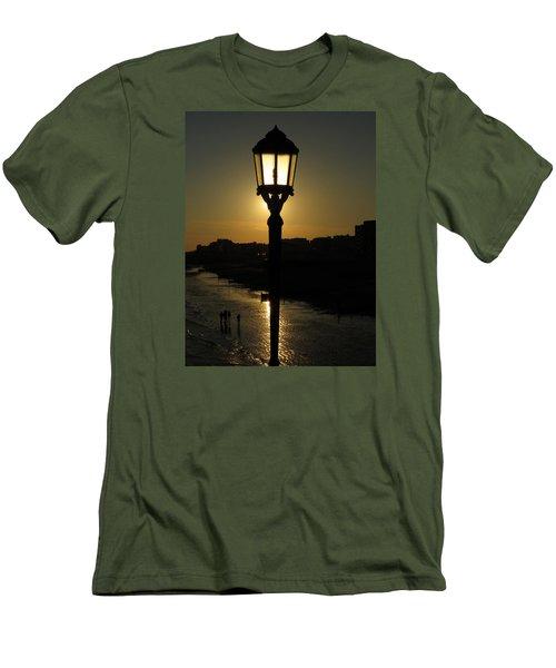 Lighting Up The Beach Men's T-Shirt (Slim Fit) by John Topman