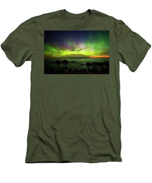 Lights 2 Men's T-Shirt (Athletic Fit)