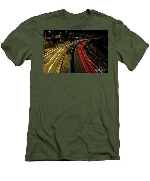 Lightstreams In Schwaebisch Gmuend Men's T-Shirt (Athletic Fit)