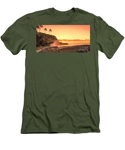 Lihu'e Sunrise Men's T-Shirt (Athletic Fit)
