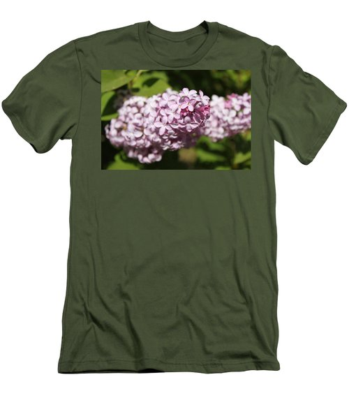 Men's T-Shirt (Slim Fit) featuring the photograph Lilacs 5549 by Antonio Romero
