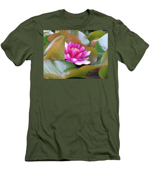 Men's T-Shirt (Slim Fit) featuring the photograph Lilly In Bloom by Wendy McKennon