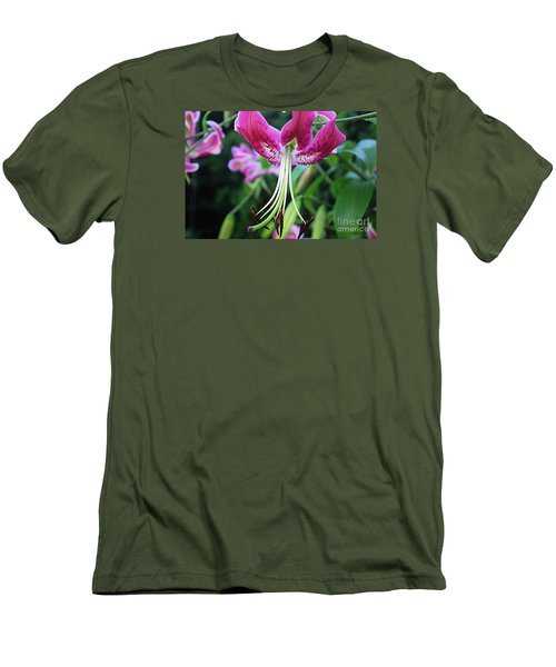Lily At The Church Men's T-Shirt (Athletic Fit)