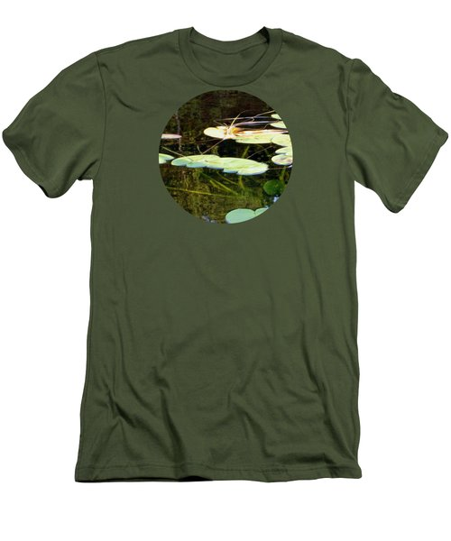 Lily Pads On The Lake Men's T-Shirt (Athletic Fit)