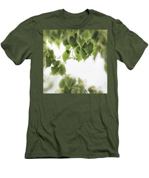 Linden In The Rain 2 -  Men's T-Shirt (Athletic Fit)