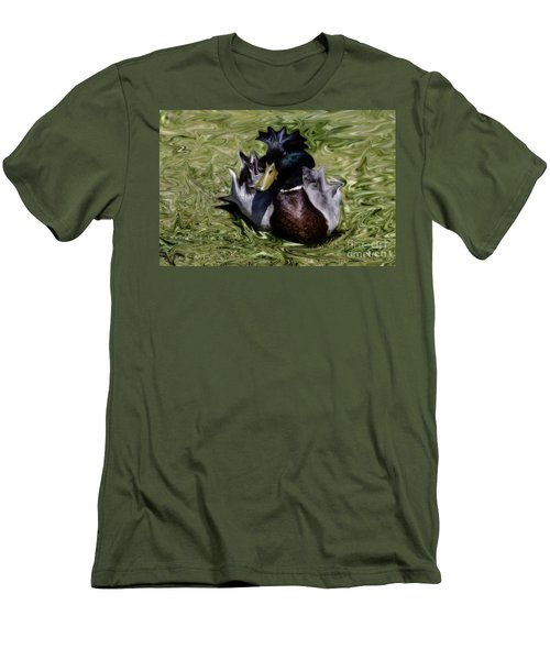 Liquid Mallard Men's T-Shirt (Athletic Fit)