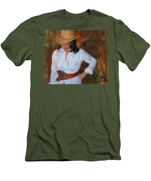 Liquid Turquoise Men's T-Shirt (Athletic Fit)