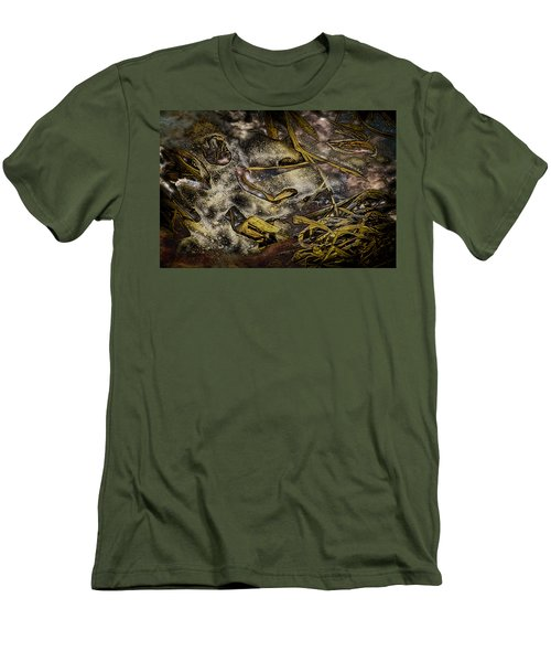 Listening To The Semifrozen Marsh Men's T-Shirt (Athletic Fit)